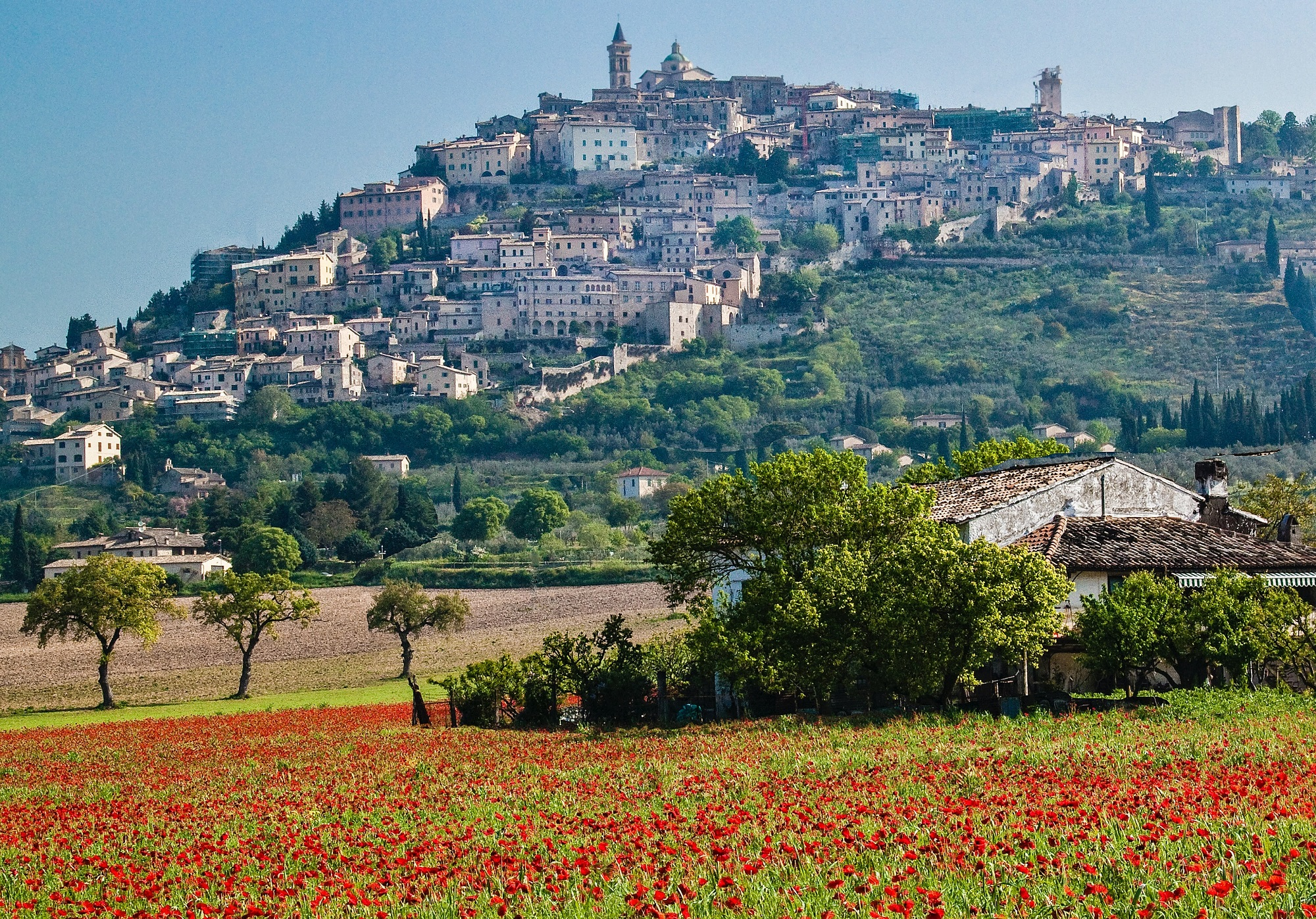 Byron and sublime Umbria: a short but intense love story